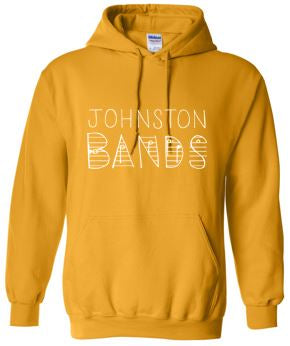 Johnston Band (Winter 2020) - Band People Adult Hooded Sweatshirt (Multiple Colors)