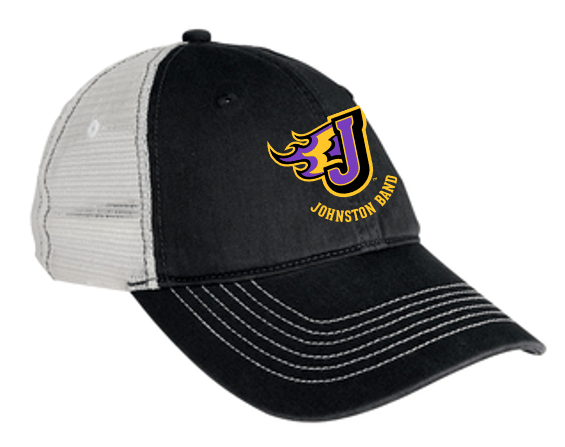 Johnston Band - Mesh Back Cap (Embroidery Design)