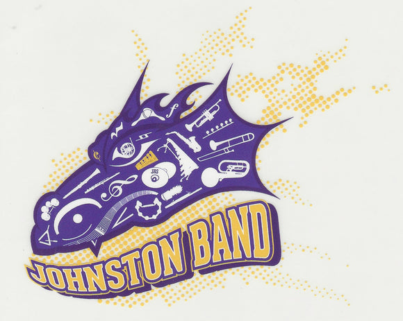 Johnston Band - Inside Window Cling