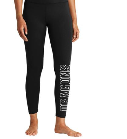 CLOSEOUT - Black Legging Pant (Youth/Ladies)