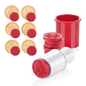 Cookie Cutter & Stamper Mold - FREE SHIPPING