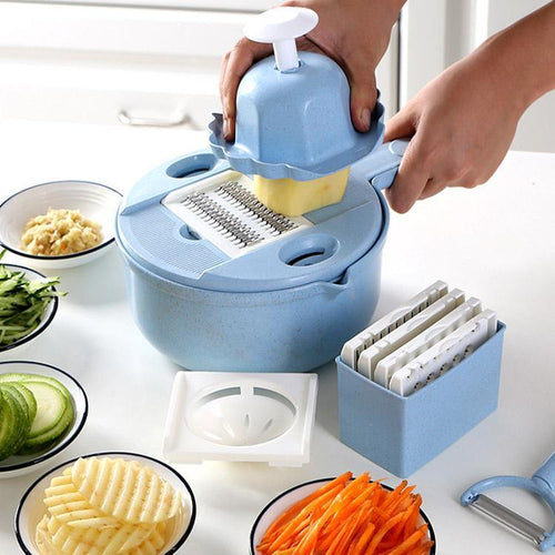 Mandoline Slicer Cutter Chopper and Grater - FREE SHIPPING
