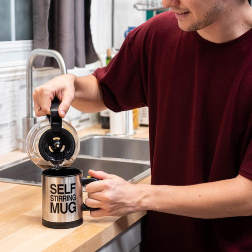 Self-Stirring Coffee Mug - FREE SHIPPING