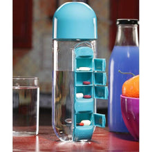 Load image into Gallery viewer, Vitamins Organizer Water Bottle - FREE SHIPPING