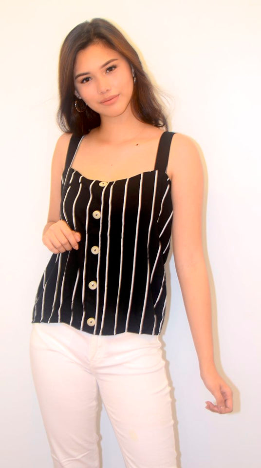 Anika Stripe top