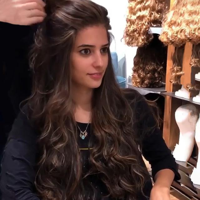 2019 Brown Black Long  Wig  | Daily Use