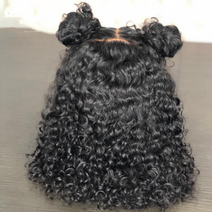 2019 short curly hair lace front wig 180% thick