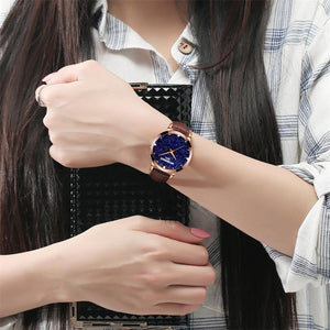 Personality fashion watch(can use 6 years )【FREE  2 spare electronic】