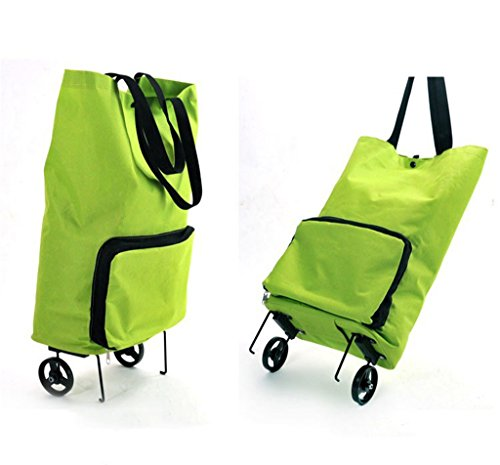 【2019 NEW Arrived】Portable Foldable Shopping Cart---With pulley