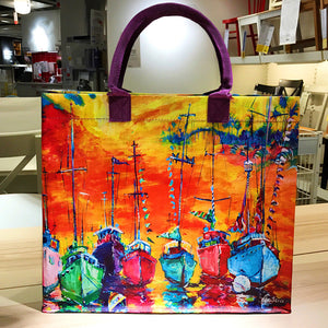 Reusable food grade shopping bag  travel bag