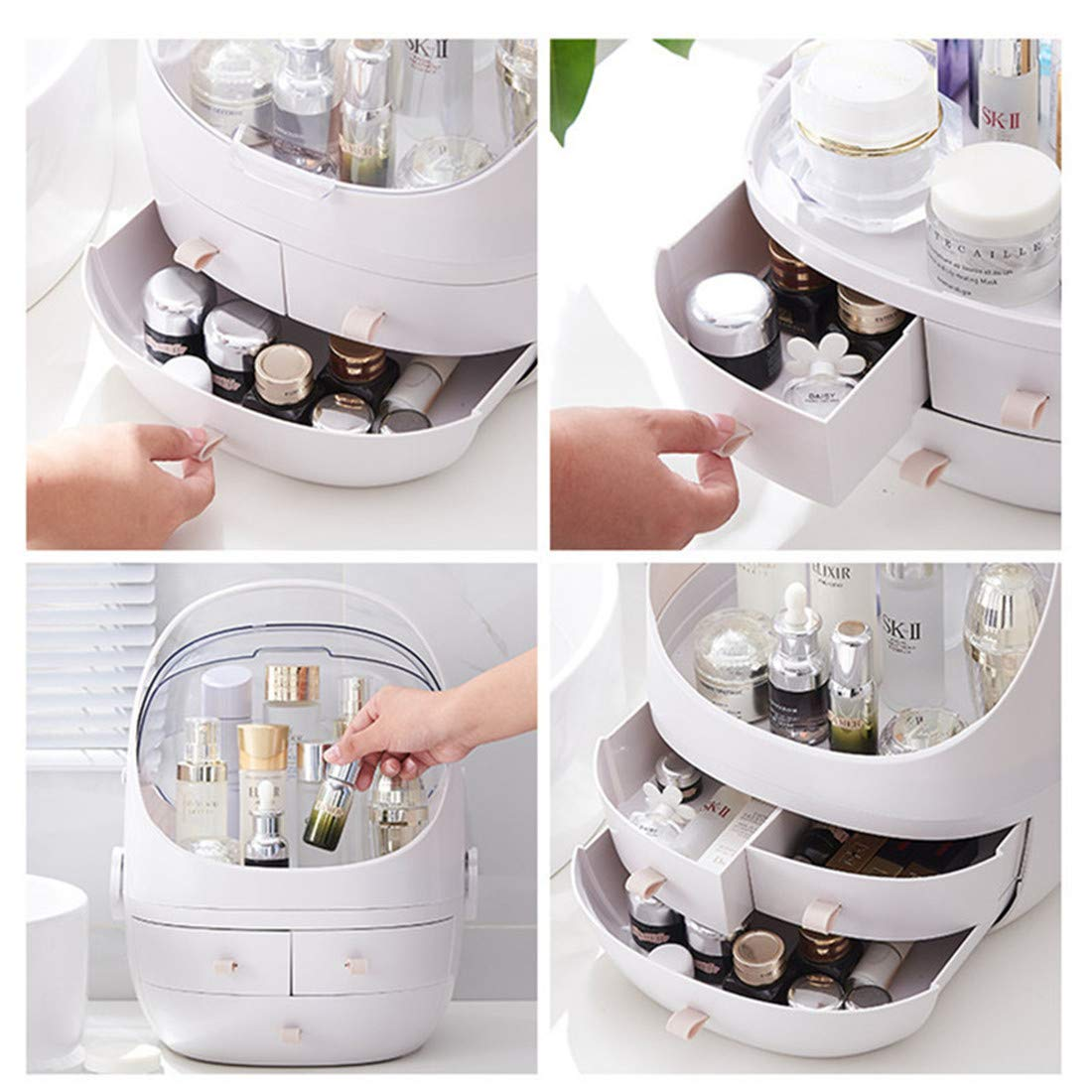 【2019 New arrived】Large-Capacity Portable Cosmetic Storage Box