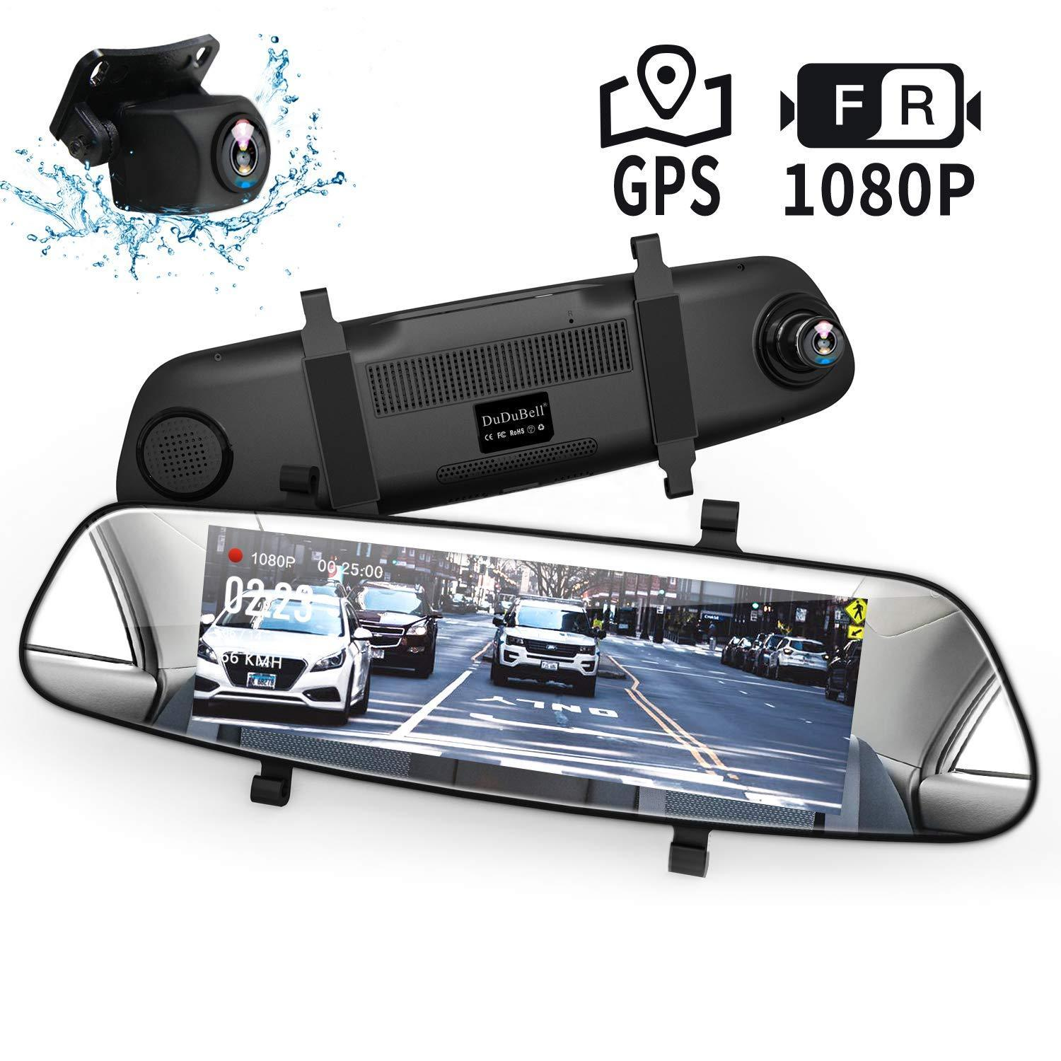 7.84 Inch LCD DVR Video Dash Cam Recorder| 1080P FHD CAMERA