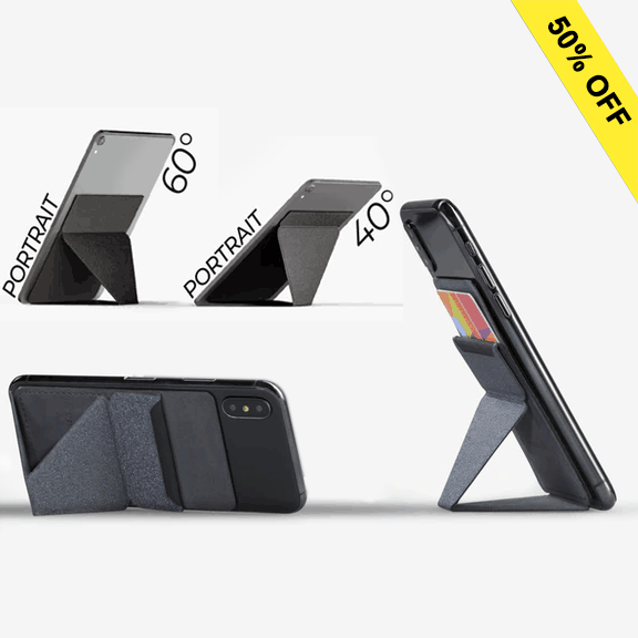 【Christmas sale-Save more】World's 1st Invisible Stand for Phone