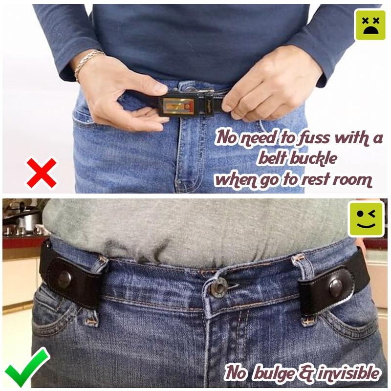 No Buckle Elastic Belt