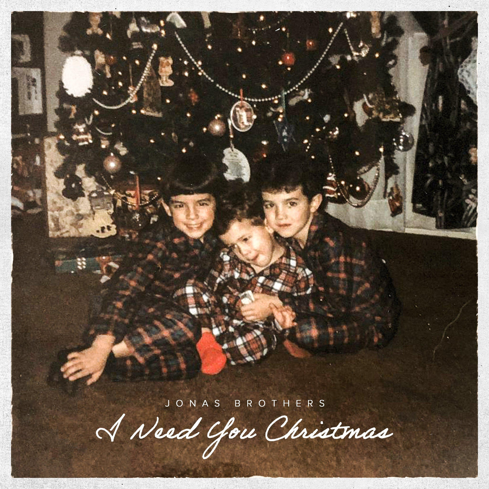 I NEED YOU CHRISTMAS DIGITAL DOWNLOAD-Jonas Brothers