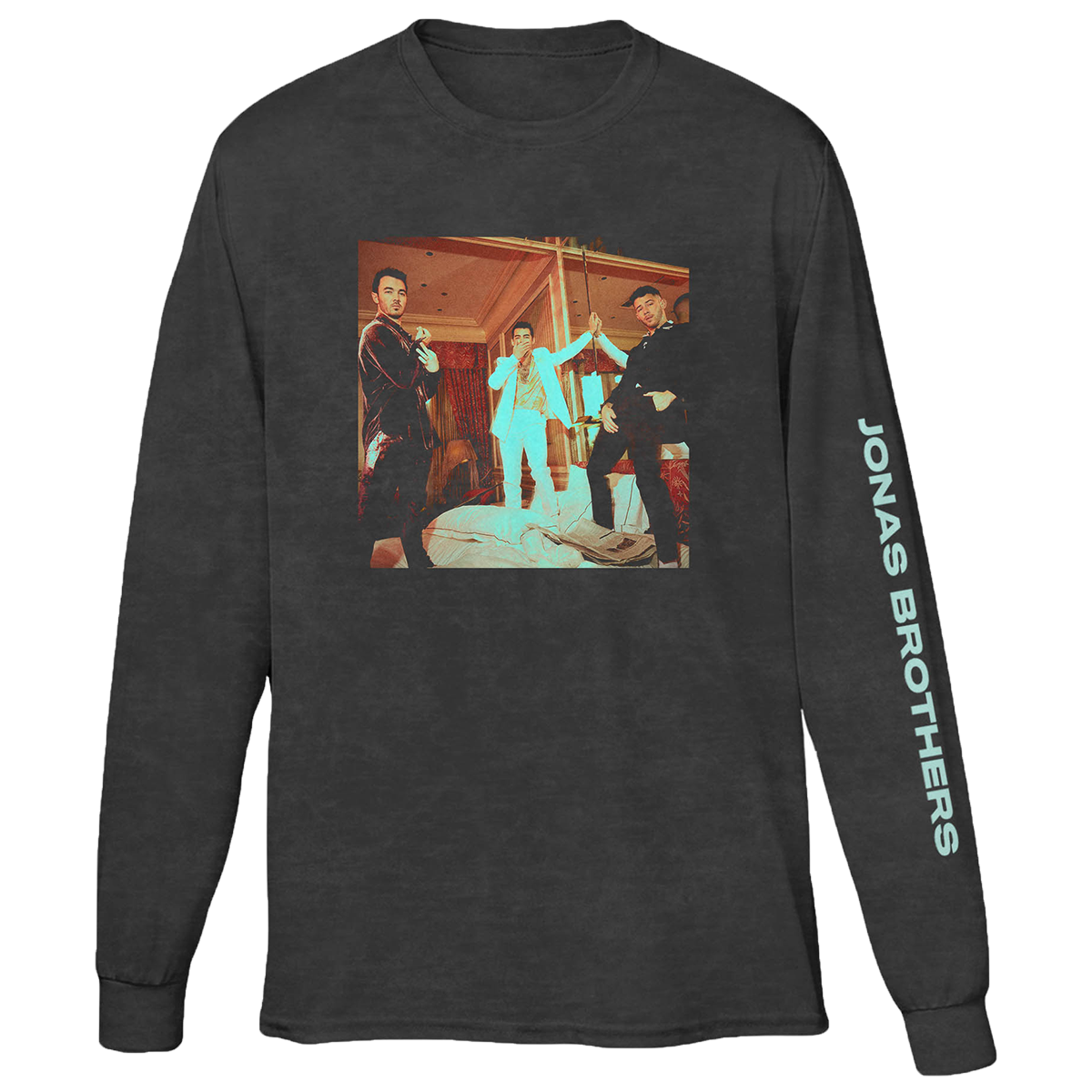 WHAT A MAN GOTTA DO BLACK LONGSLEEVE-Jonas Brothers