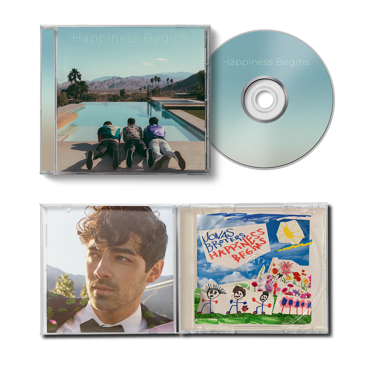 EXCLUSIVE CD (JOE VERSION) - Jonas Brothers Official