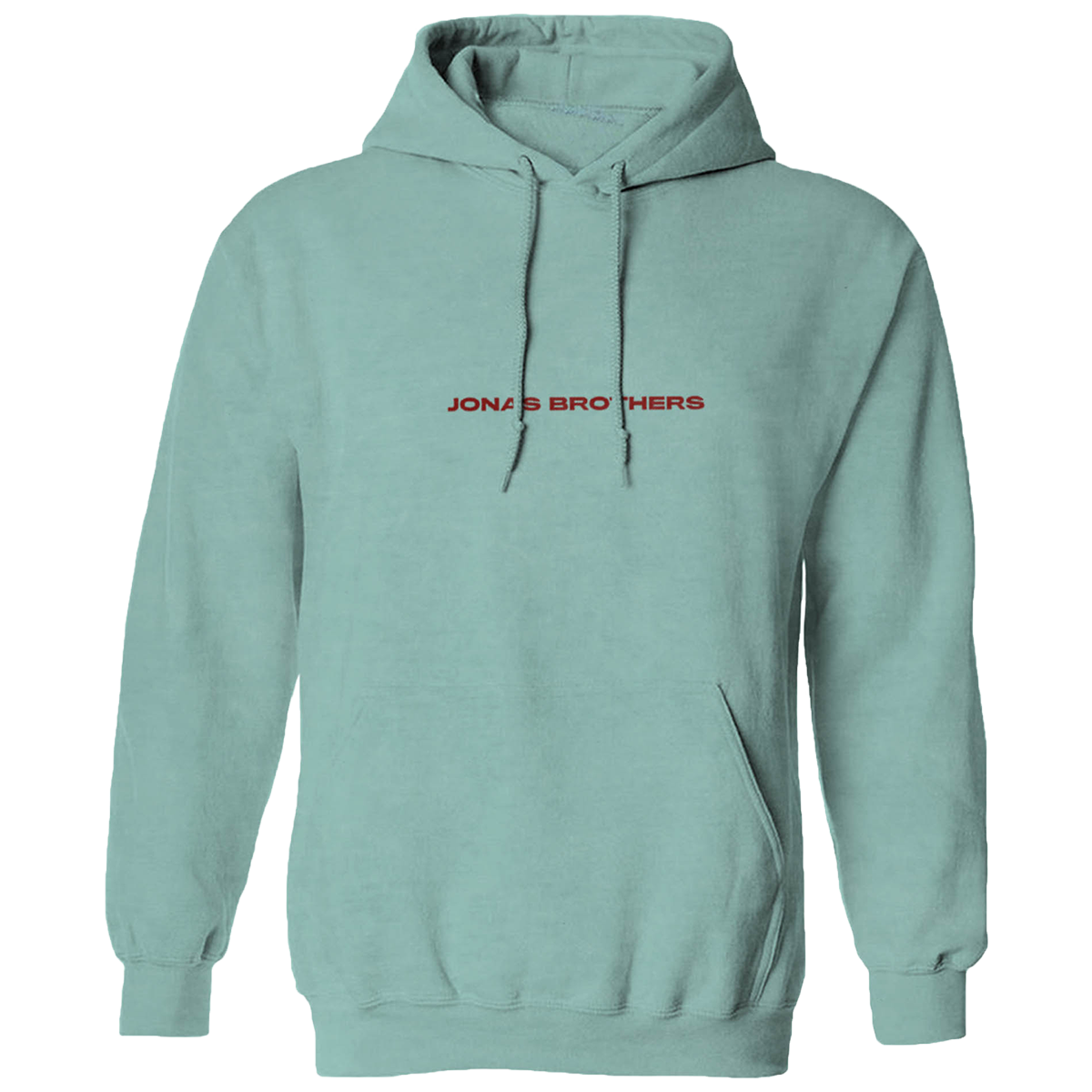 WHAT A MAN GOTTA DO SEAFOAM PULLOVER HOODIE-Jonas Brothers