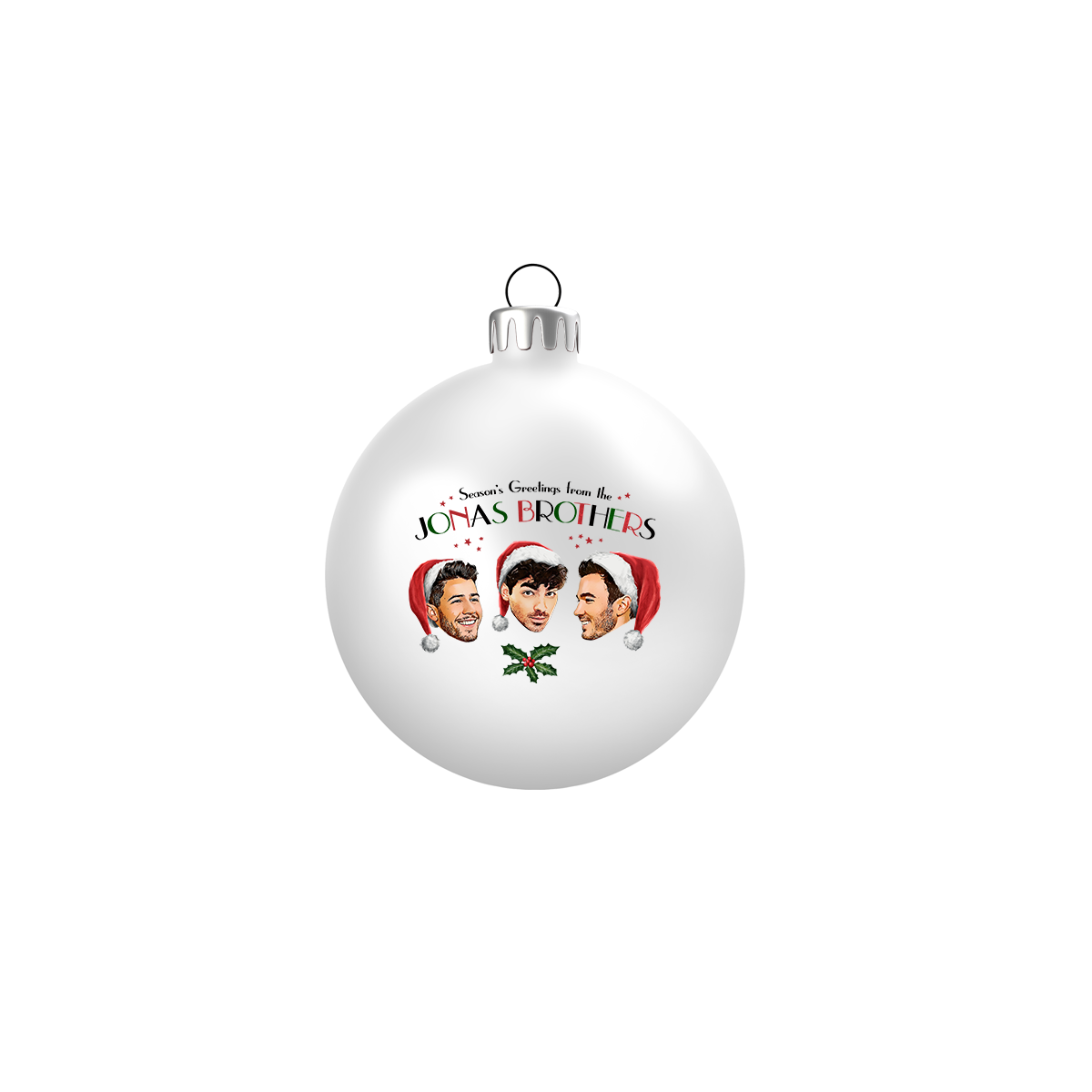 Season's Greetings Ornament - Jonas Brothers Official