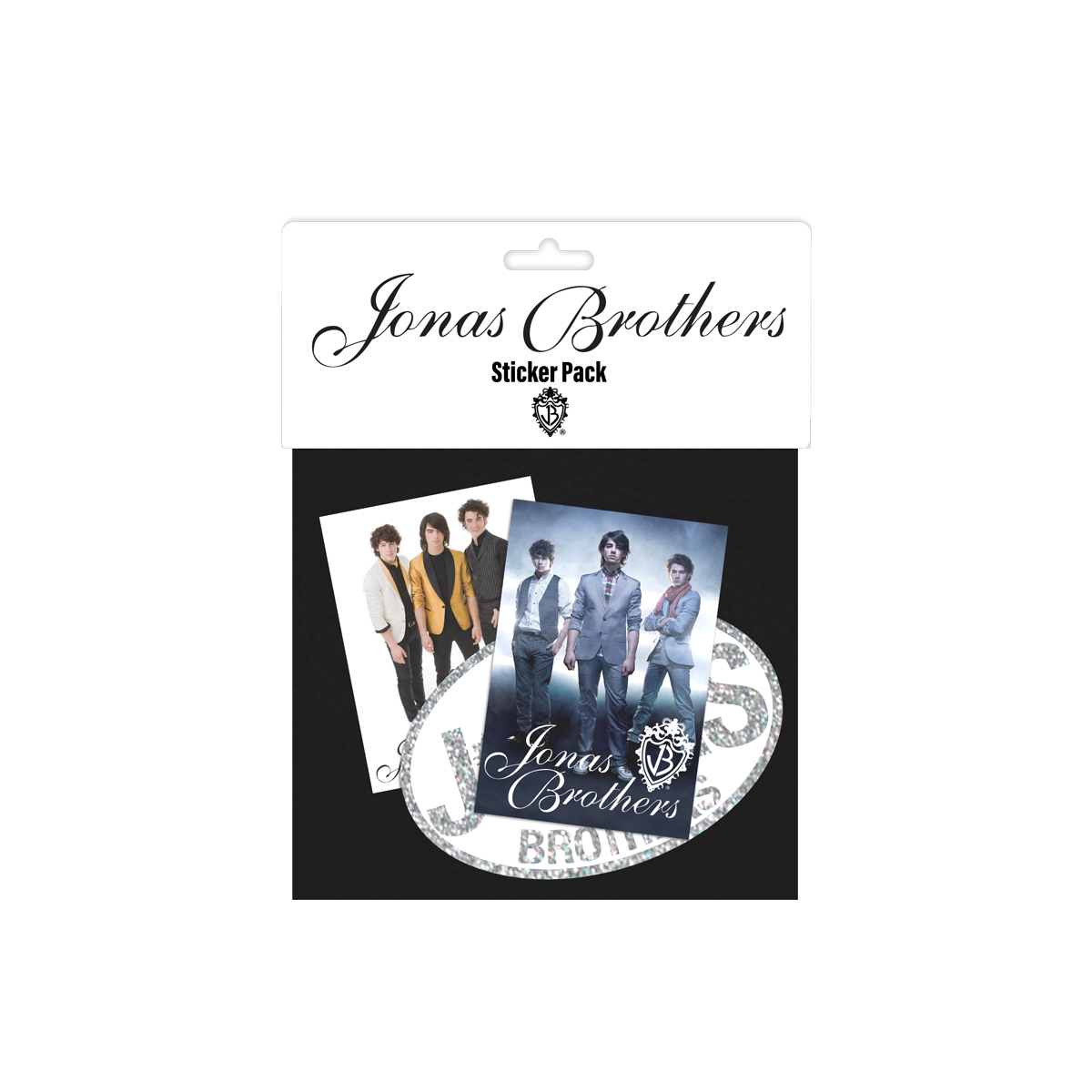Throwback Sticker Pack-Jonas Brothers
