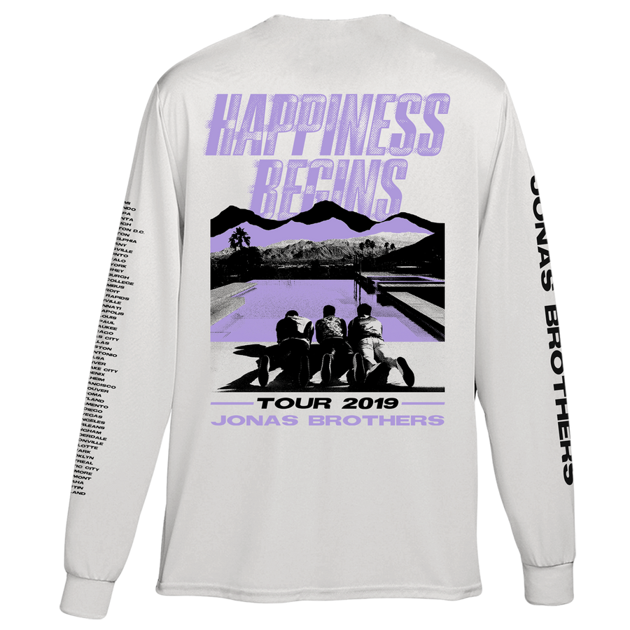 HAPPINESS BEGINS TOUR LONG SLEEVE - Jonas Brothers Official