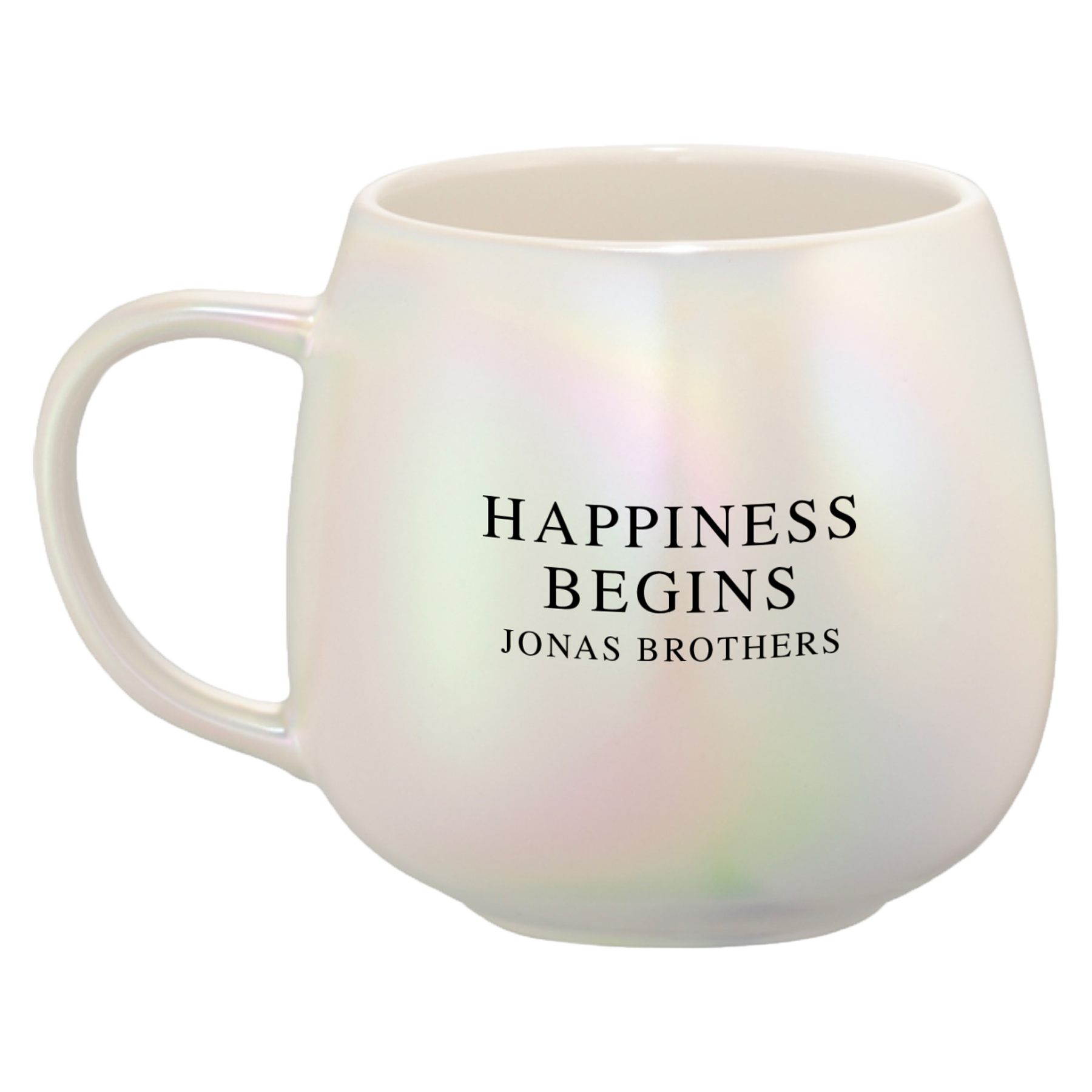 HAPPINESS BEGINS MUG - Jonas Brothers Official