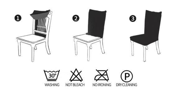 How to Install Dining Chair Cover