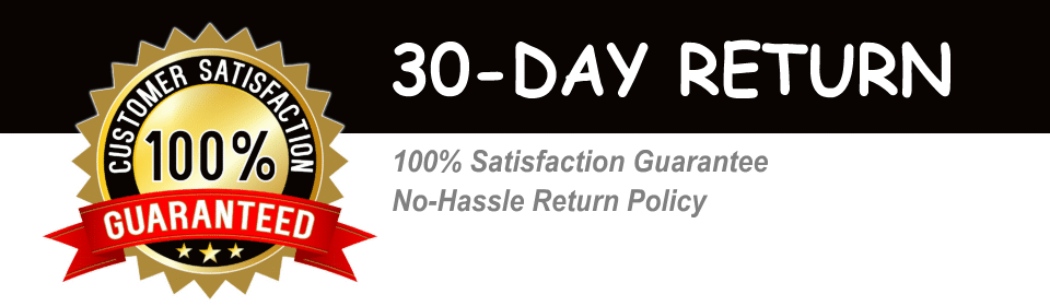 Hassle-Free 30-Day Return Policy