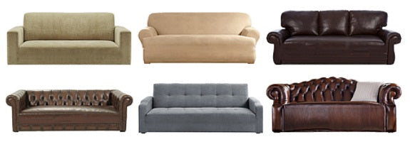 Sofa Slipcover Types