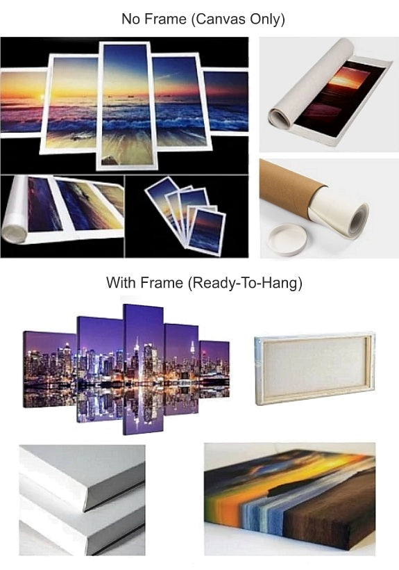 Canvas Wall Art Frame Options