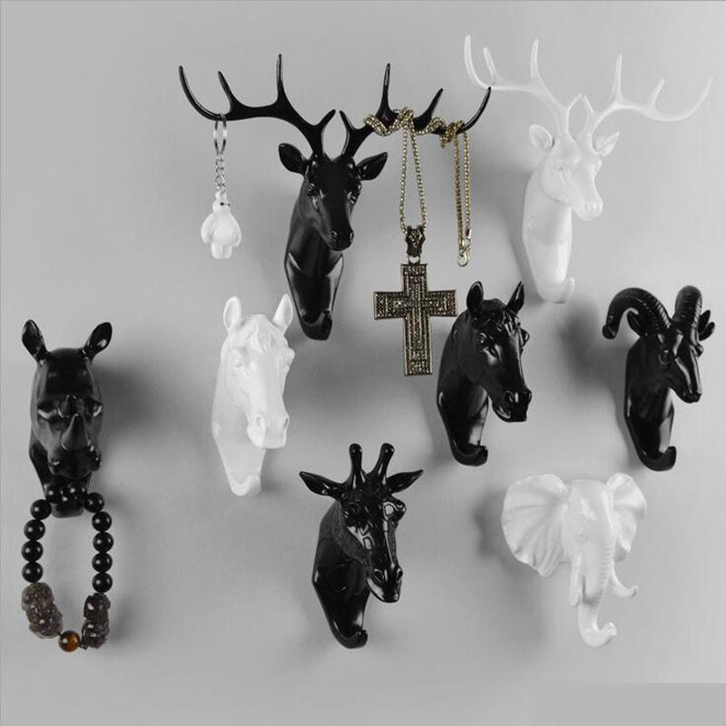 Multi-Purpose Resin Animal Shape Garment Hanger / Wall Hook