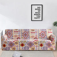 Multi-Color Boho Native Pattern Sofa Couch Cover