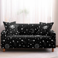 Planet / Space Constellation Pattern Sofa Couch Cover