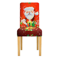 Winter Holiday Christmas Dining Chair Covers