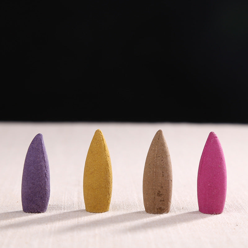 20-Piece Large 3.5cm Bullet Head Backflow Incense Cones