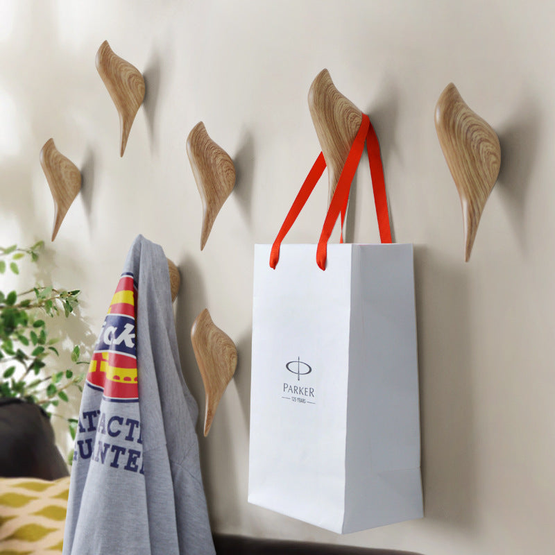 Multi-Purpose Resin Bird Shape Garment Hanger / Wall Hook