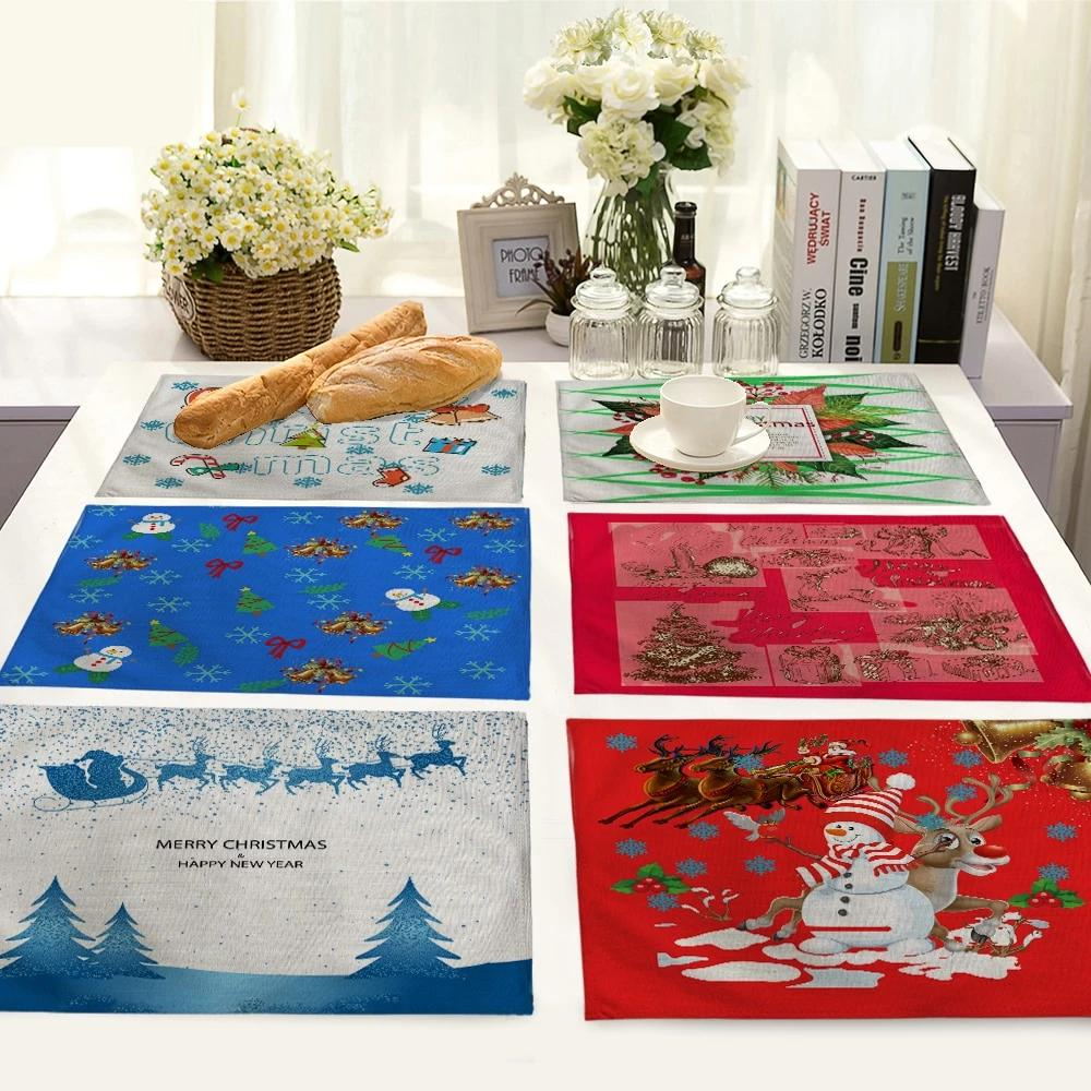 Merry Christmas Holiday Table Placemat