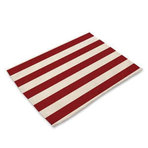 Stars & Stripes American Flag Pattern Table Placemat