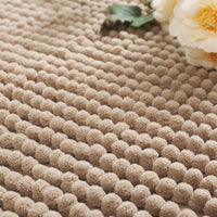Ultra-Thick Pile Non-Slip Chenille Bathroom Rug Floor Mat