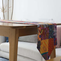 Multi-Color Bohemian Pattern Cotton Linen Table Runner