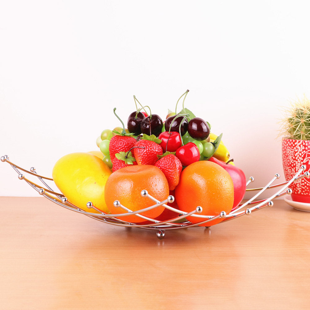 Stainless Steel Lattice Fruit Basket Rack