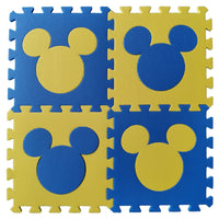 Cartoon Mouse Foam Interlocking Kids Play Floor Mat