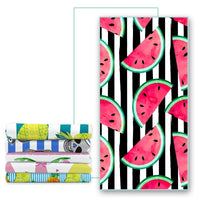 Quick-Dry Fruit Pattern Microfiber Beach Towel