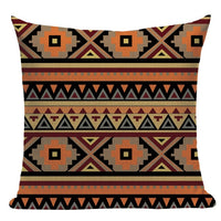 "18"" Southwestern Native / Aztec Pattern Throw Pillow Cover"