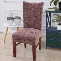 Abstract Splatter Pattern Dining Chair Cover