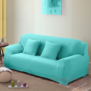 Solid-Color Stretch Elastic Sofa Couch Cover