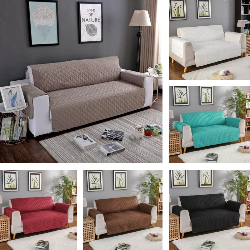 Groovy Solid Diamond Quilt Pattern Sofa Couch Protector Cover Andrewgaddart Wooden Chair Designs For Living Room Andrewgaddartcom
