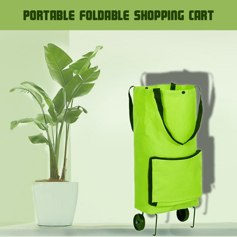 Portable Foldable Shopping Cart - AHADAY- Online Shopping With Great Deals