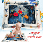 KidMat™ - Tummy Time Inflatable Babies Water Mat - AHADAY- Online Shopping With Great Deals