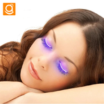 [Aha Xmas] Glowing LED Lights Eyelashes - AHADAY- Online Shopping With Great Deals